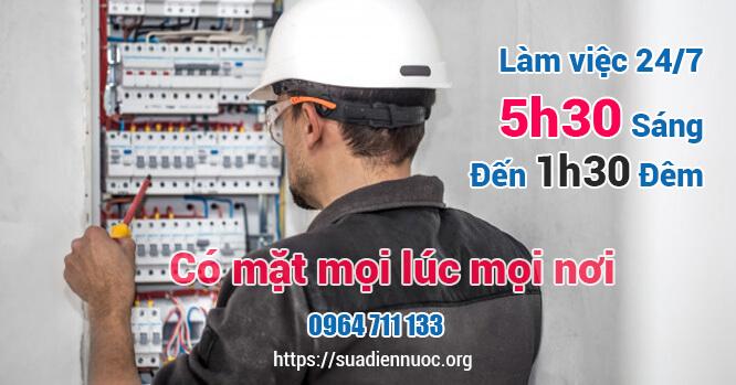 sửa chữa điện nước cả ngày lẫn đêm Thiên Đức